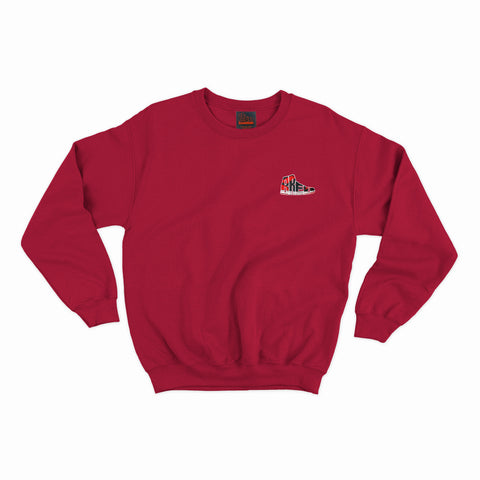 Bred Essentials Crewneck - Red