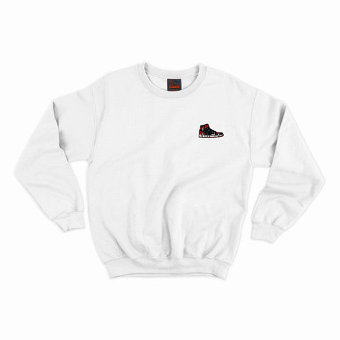 Bred Essentials Crewneck - White