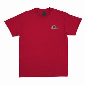 Bred Essentials Patch Tee - Red