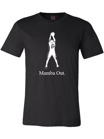 "Kobe Bryant ""Mamba Out"" Tee"