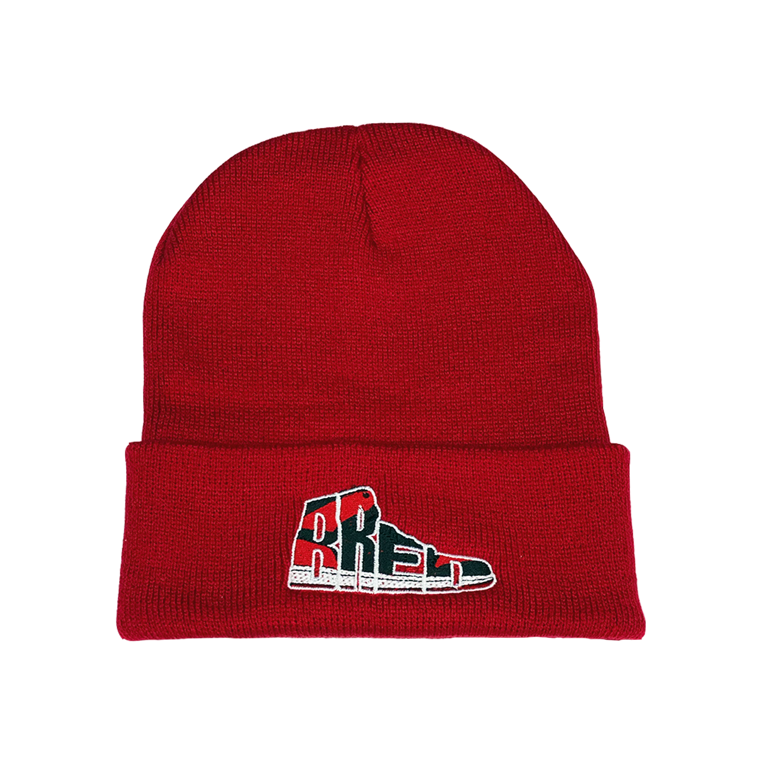 Bred Essentials Beanie - Red