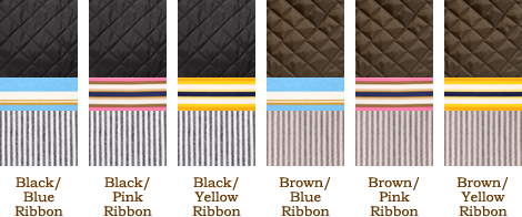 Nylon Swatch Options