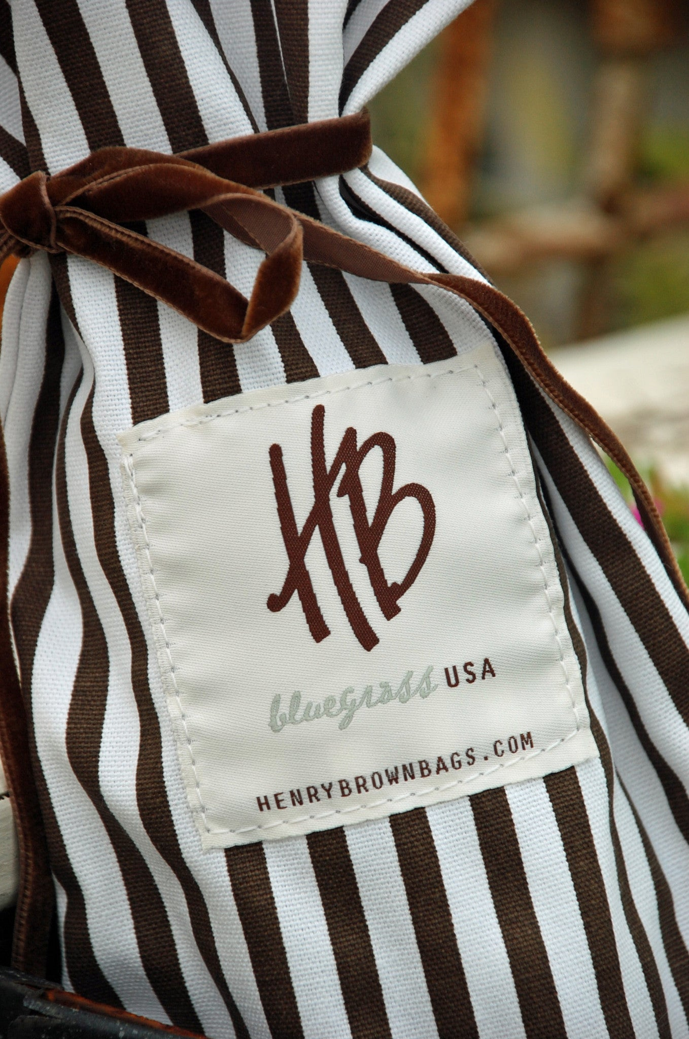 Henry Brown Wine Bag
