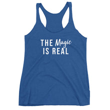The Magic is Real Triblend Racerback Tank