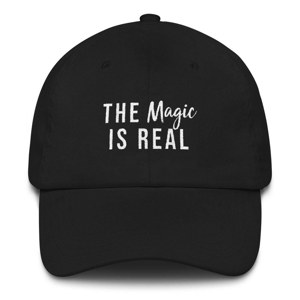 The Magic is Real Soft Embroidered Baseball Cap