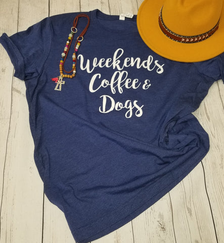 Weekends Coffee Dogs Relaxed Fit