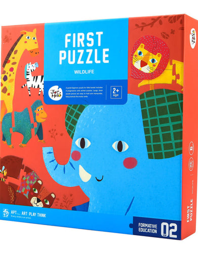 My First Puzzle- Wildlife Animals - Best4Kids