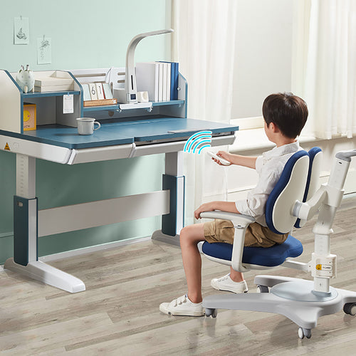 Totguard Electric Ergonomic Kids Desk and Chair Set  - HT612YW | Elephant Series - Best4Kids
