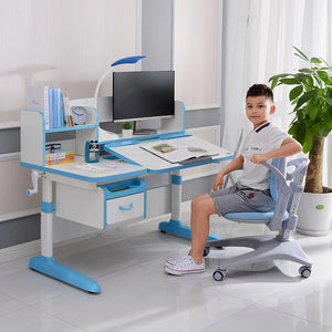Totguard Ergonomic Kids Desk and Chair Set  - HT512YW | Anti-Microbial Surface - Best4Kids