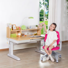 Load image into Gallery viewer, Totguard Electric Ergonomic Kids Desk and Chair Set  - HT612YW | Elephant Series - Best4Kids