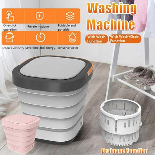 Portable Mini Folding Clothes Washing Machine, - Best4Kids