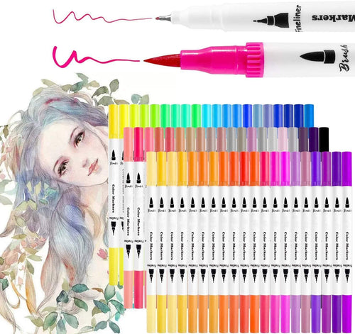 Dual Tip Water Based Art Markers - Best4Kids