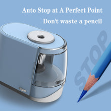 Load image into Gallery viewer, Electric Helical Blade Pencil Sharpener - Best4Kids