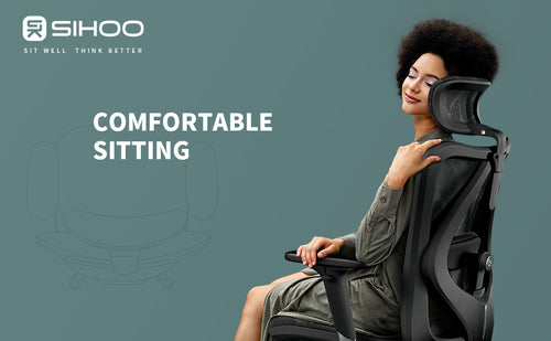 SIHOO Ergonomic Adjustable Office Chair with 3D Arm Rests and Lumbar Support (Coming Soon) - Best4Kids