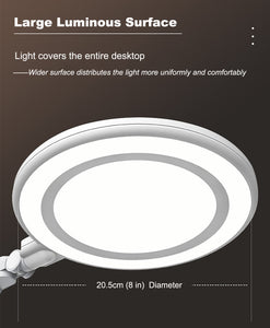 216 LED Beads Eye-Protection Natural Daylight Full Spectrum LED Desk Lamp-235B - Best4Kids