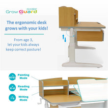 Load image into Gallery viewer, Totguard Ergonomic Kids Desk and Chair Set - HT512SNW - Best4Kids