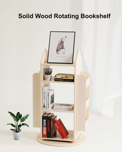 Best4Kids 360 Degrees Rotating Bookshelf - Best4Kids