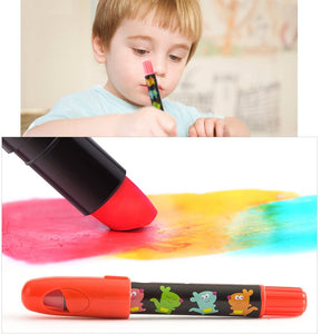 Jar Melo Washable Crayons - Non Toxic; 3 In 1 Effect (Crayon- Pastel- Watercolor) - Best4Kids