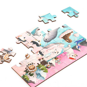 Tooky Toy  Wooden Puzzle - Best4Kids