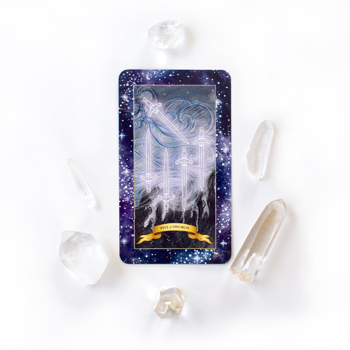Learn Tarot Card Meanings - 5 of Swords