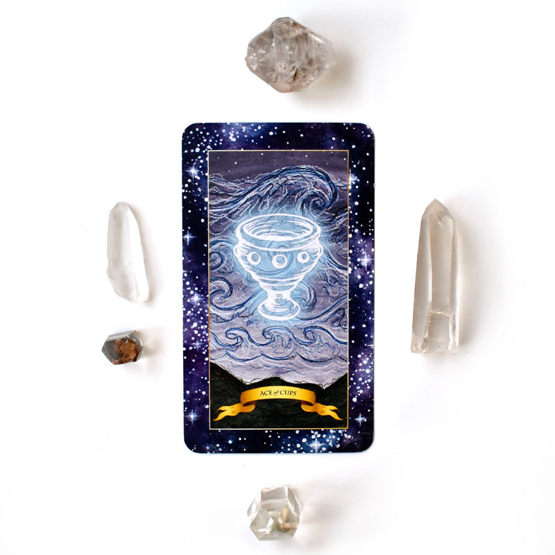 The Constellation Tarot deck - Learn tarot card meanings of Ace of Cups