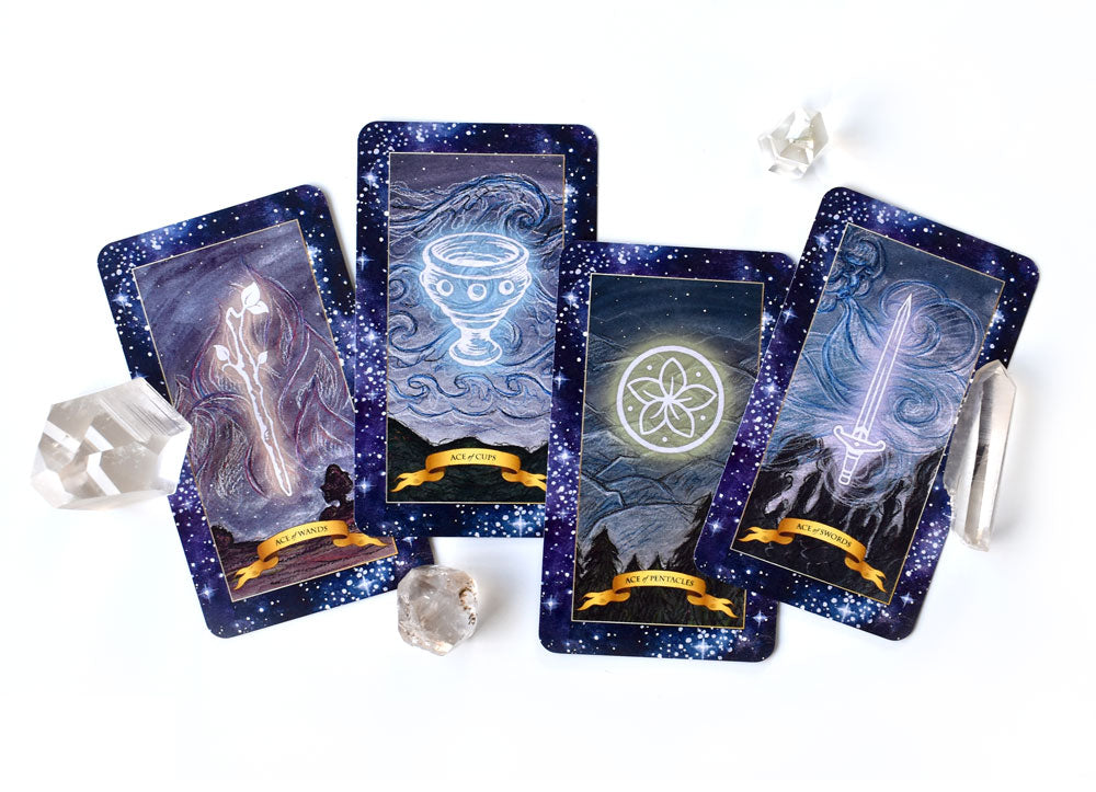 The Constellation Tarot deck - Minor Arcana
