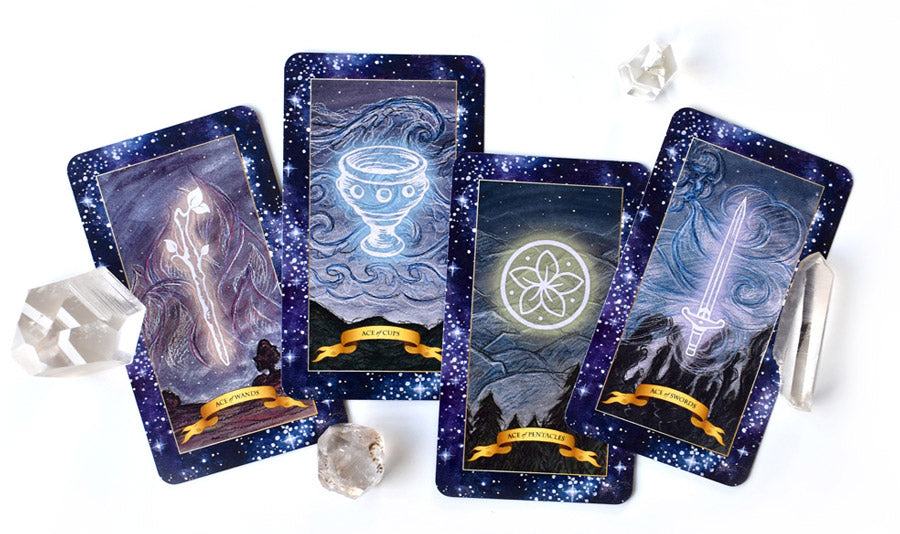 The Constellation Tarot deck - Learn tarot card meanings of the Minor Arcana