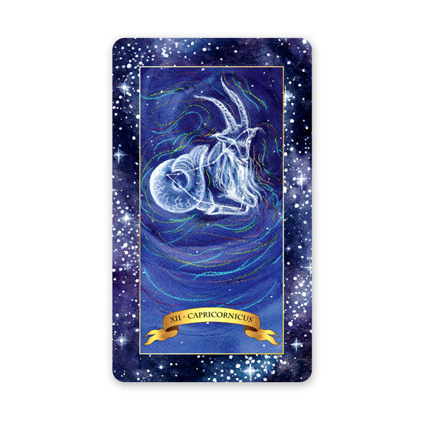 The Constellation Tarot deck - Learn tarot card meanings for the Hanged Man