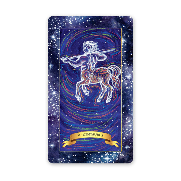 The Constellation Tarot deck - understand the tarot card meanings for the Hierophant Tarot card