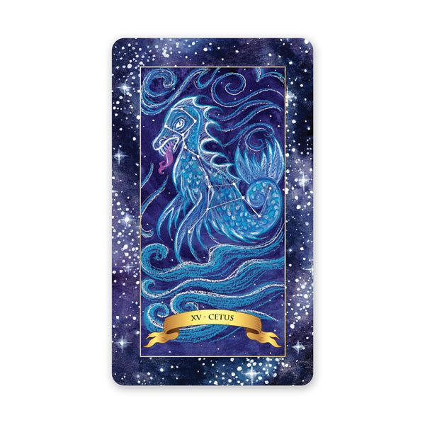 The Constellation Tarot deck - Learn tarot card meanings for the Devil card