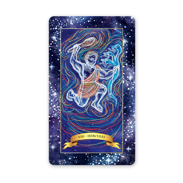 The Constellation Tarot deck - understand the tarot card meanings for the Strength card