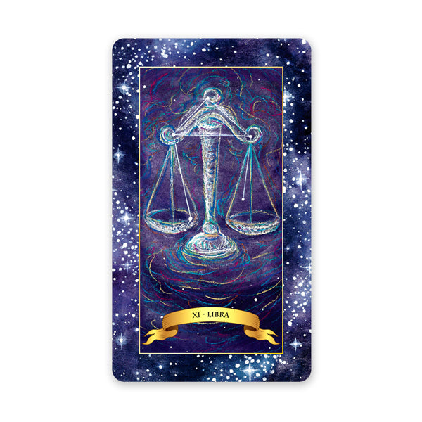 The Constellation Tarot deck - Learn tarot card meanings of the Star card