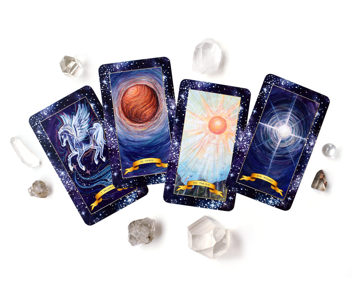 The Constellation Tarot deck - Major Arcana