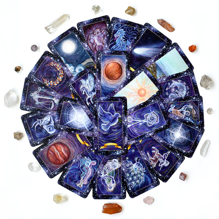 The Constellation Tarot deck - Learn tarot card meanings of the Major Arcana