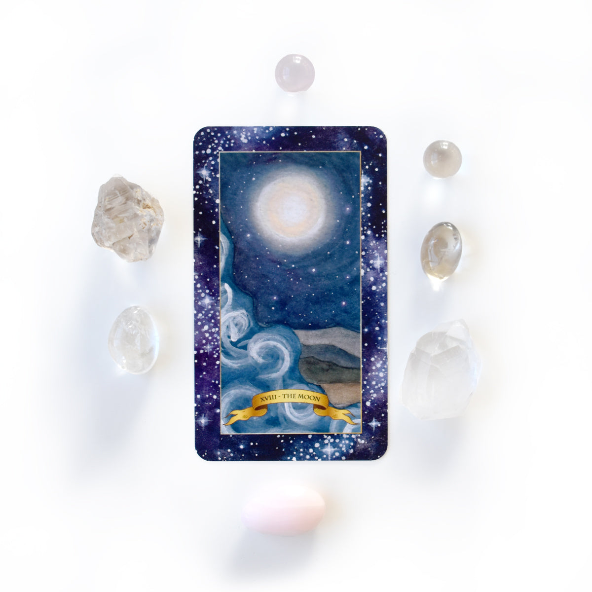 The Constellation Tarot deck - Learn tarot card meanings of the Moon