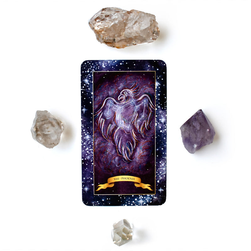 The Constellation Tarot deck - Learn tarot card meanings of Death card