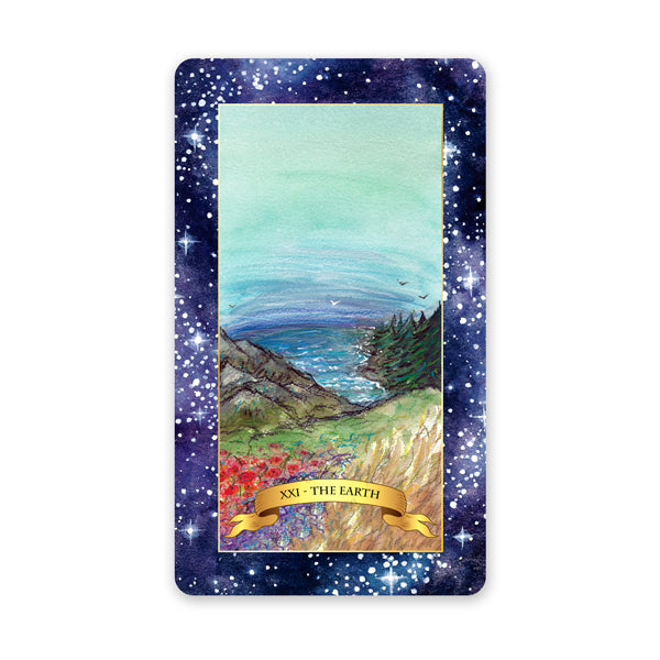 The Constellation Tarot deck - Learn tarot card meanings of the World card
