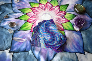 Silk Tarot Cloth for Tarot card spreads and card readings