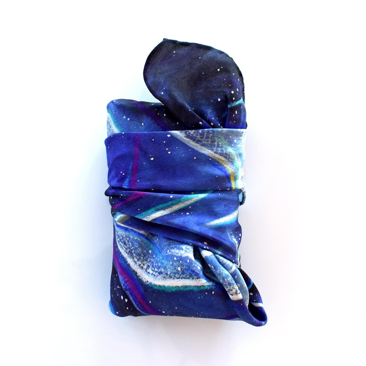 Silk Tarot Cloth — Cosmic Ocean