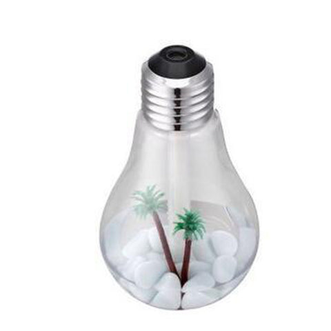 LED Bulb Essential Oil Diffuser 400ML for $20.99