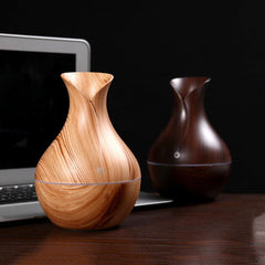 Vase Wood Grain Air Humidifier for $22.99