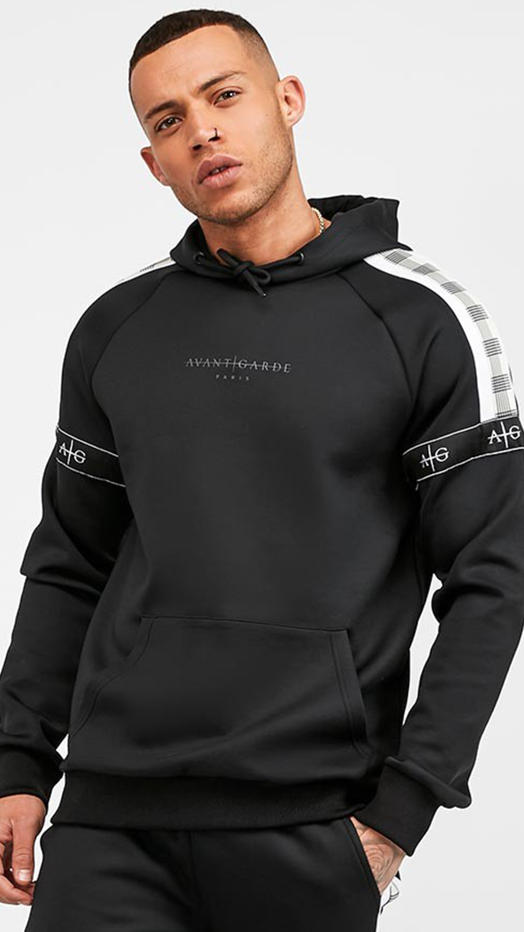 Men's Ravello Hoodie in Black 2.0