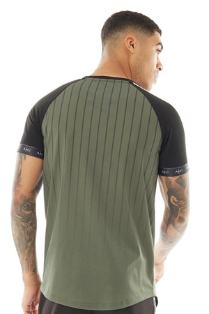 Men's Walter T-Shirt in Khaki/Black