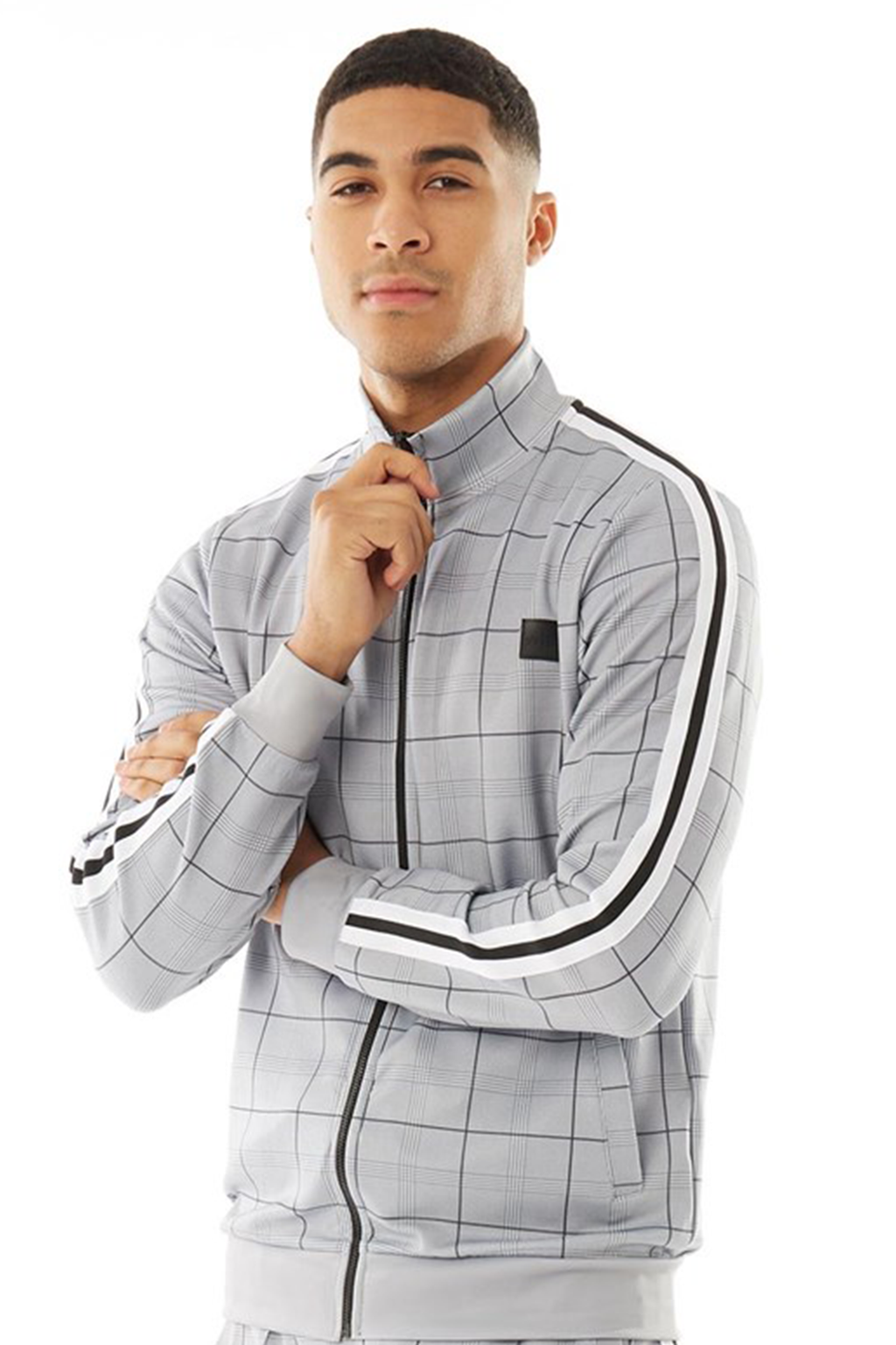 Men's Sonic Track Top in Grey