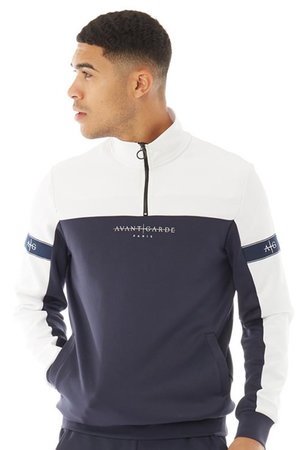 Men's Vazquez Track Top in Navy