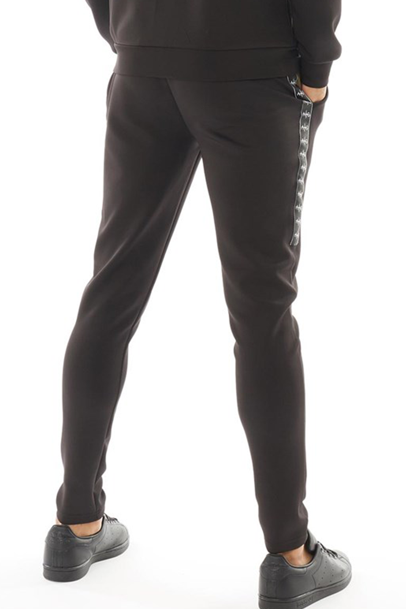 Men's Walter Pants in Black/Khaki