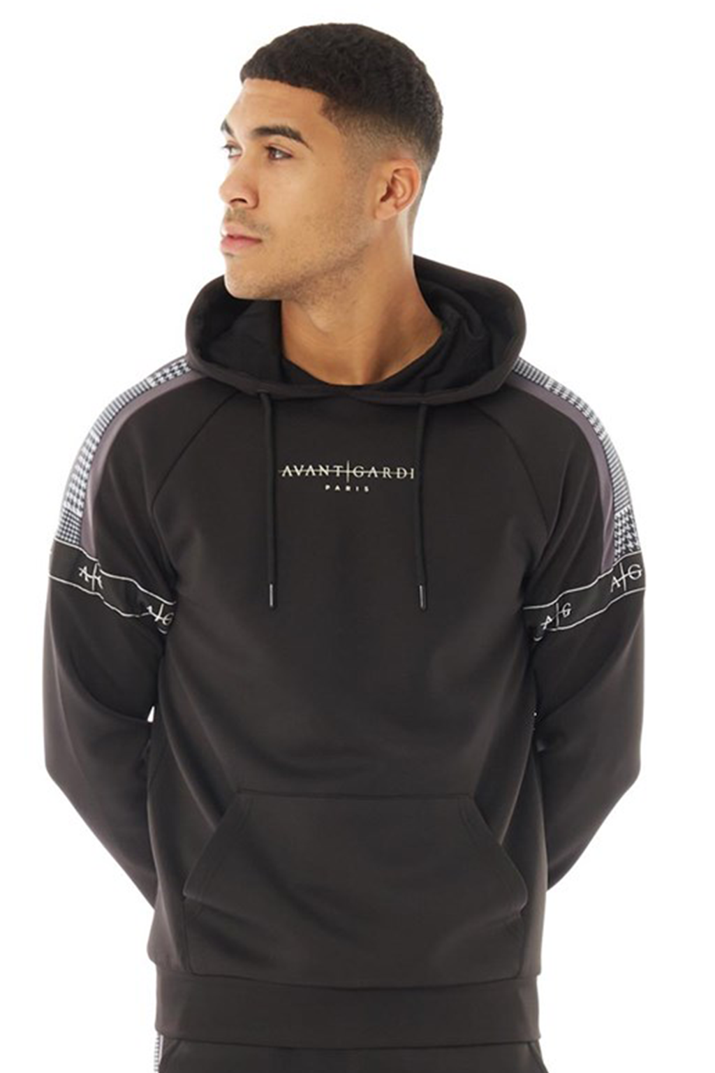Men's Ravello Hoodie in Black