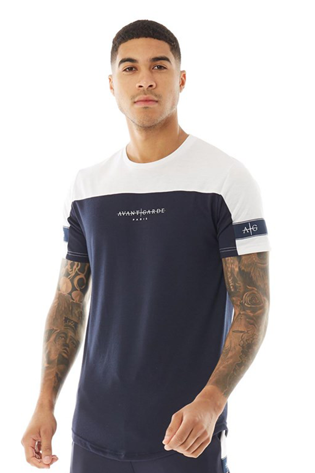 Men's Vazquez T-Shirt in Navy