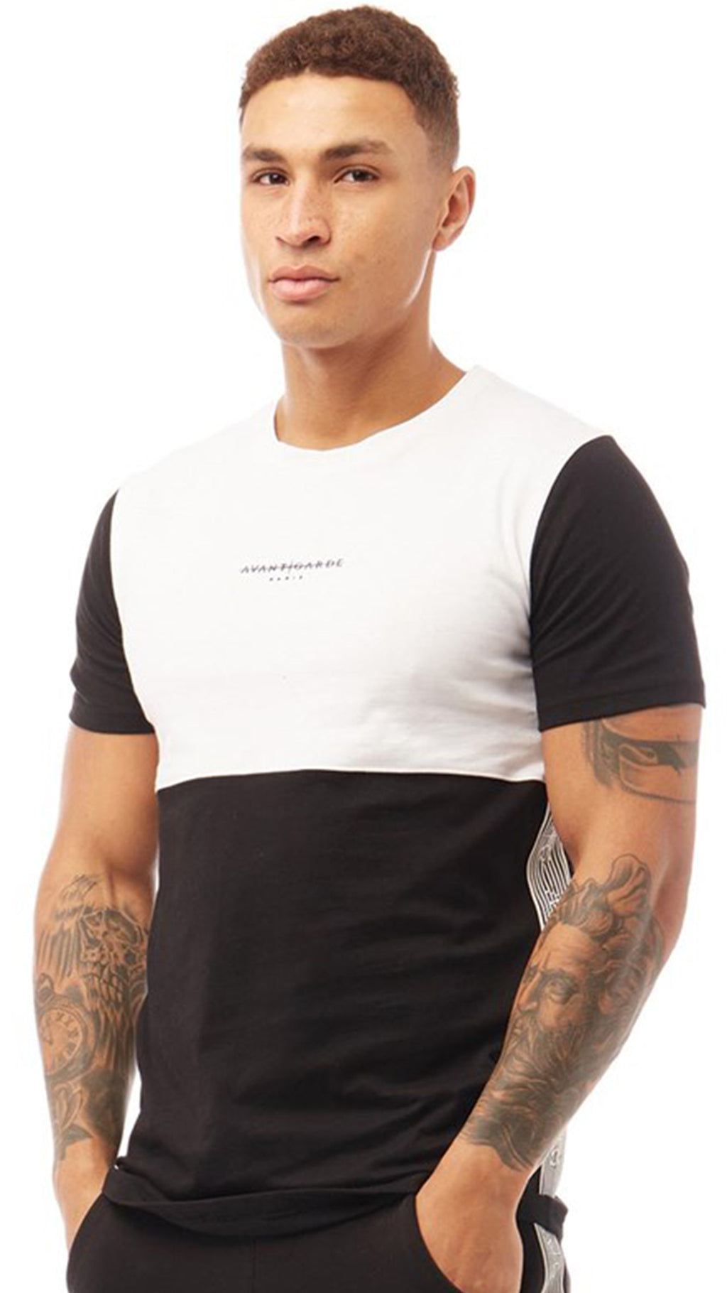 Arkesden Cut N Sew T-Shirt Black