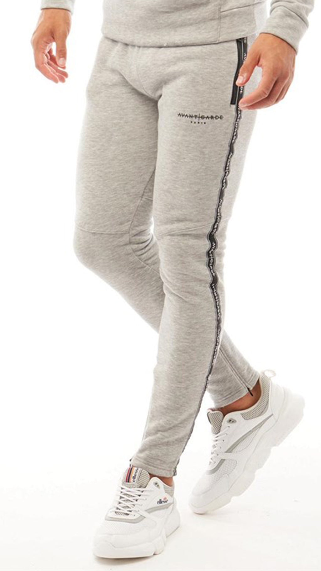 Ashdon Joggers Light Grey Melange